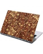 Floral Wood Mahogany Yoga 910 2-in-1 14in Touch-Screen Skin