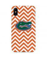 Florida Gators Chevron Print iPhone XS Max Lite Case