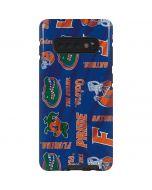 Florida Gators Pattern Galaxy S10 Plus Pro Case
