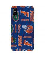 Florida Gators Pattern iPhone XS Max Lite Case