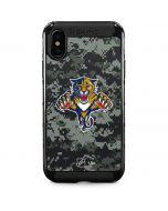 Florida Panthers Camo iPhone XS Max Cargo Case