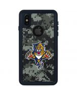 Florida Panthers Camo iPhone XS Waterproof Case