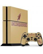 Florida State Unconquered Gold PS4 Console and Controller Bundle Skin
