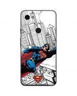 Flying Superman Google Pixel 3a Skin