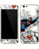 Flying Superman iPhone 6/6s Skin