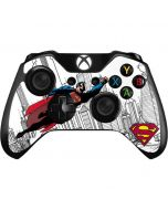 Flying Superman Xbox One Controller Skin