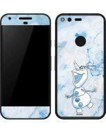 Frozen Olaf Google Pixel Skin
