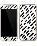 Black Dash iPhone 6/6s Skin