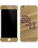 FSU Gold Print iPhone 6/6s Plus Skin
