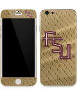 FSU Gold Print iPhone 6/6s Skin