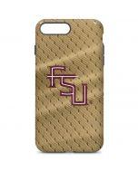 FSU Gold Print iPhone 7 Plus Pro Case
