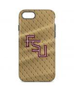 FSU Gold Print iPhone 8 Pro Case