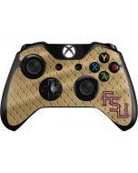 FSU Gold Print Xbox One Controller Skin