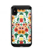 Geometric Flowers iPhone XS Max Cargo Case