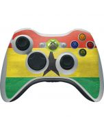 Ghana Flag Distressed Xbox 360 Wireless Controller Skin
