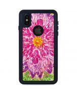 Ginseng Flower iPhone XS Waterproof Case