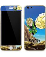 Gohan Power Punch iPhone 6/6s Skin