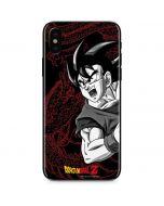 Goku and Shenron iPhone X Skin