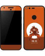 Goku Orange Monochrome Google Pixel Skin