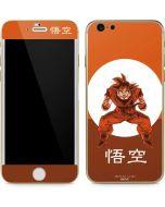 Goku Orange Monochrome iPhone 6/6s Skin