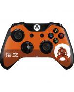 Goku Orange Monochrome Xbox One Controller Skin