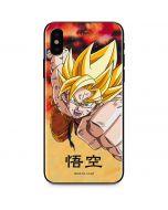 Goku Power Punch iPhone X Skin