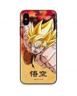 Goku Power Punch iPhone XS Skin