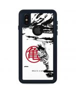 Goku Wasteland Bold iPhone XS Waterproof Case