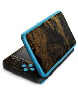 Gold and Black Marble 2DS XL (2017) Skin