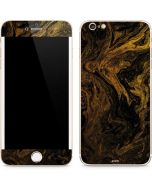 Gold and Black Marble iPhone 6/6s Plus Skin