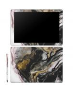 Gold Blush Marble Ink Galaxy Book 10.6in Skin