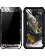 Gold Blush Marble Ink Galaxy S6 Active Skin