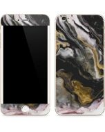 Gold Blush Marble Ink iPhone 6/6s Plus Skin