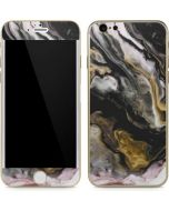 Gold Blush Marble Ink iPhone 6/6s Skin