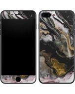 Gold Blush Marble Ink iPhone 7 Plus Skin