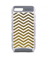 Gold Chevron iPhone 8 Plus Cargo Case