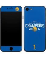 Golden State Warriors 2017 Champions iPhone 7 Skin