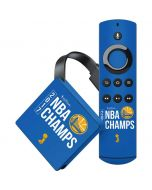Golden State Warriors 2017 NBA Champs Amazon Fire TV Skin