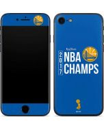 Golden State Warriors 2017 NBA Champs iPhone 7 Skin