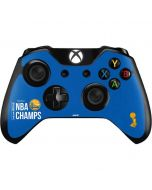 Golden State Warriors 2017 NBA Champs Xbox One Controller Skin