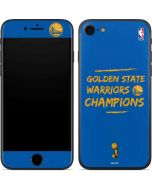 Golden State Warriors 2018 Champions iPhone 7 Skin