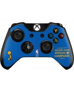 Golden State Warriors 2018 Champions Xbox One Controller Skin