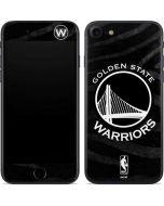 Golden State Warriors Black Animal Print iPhone 7 Skin