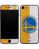 Golden State Warriors Canvas iPhone 7 Skin