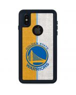 Golden State Warriors Canvas iPhone X Waterproof Case