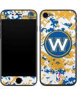 Golden State Warriors Digi Camo iPhone 7 Skin
