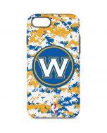 Golden State Warriors Digi Camo iPhone 8 Pro Case