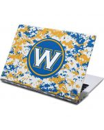 Golden State Warriors Digi Camo Yoga 910 2-in-1 14in Touch-Screen Skin