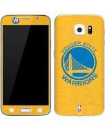 Golden State Warriors Distressed Galaxy S6 Skin