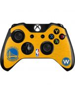 Golden State Warriors Distressed Xbox One Controller Skin